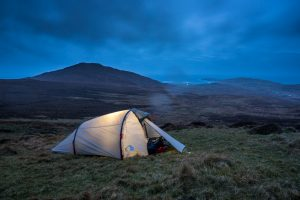 Wildcamping on Barra